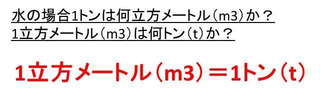 1l は 何 m3