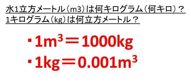 キロ 1 リットル 何 土1リットルの測り方はどうすればいいの?