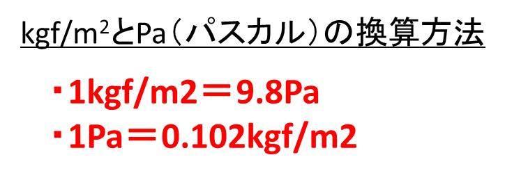 換算 パスカル 単位 タイヤの空気圧について 換算はどうやるの?