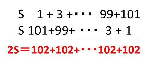 1から100までの偶数の和を計算する方法は?1から101までの奇数の和は ...