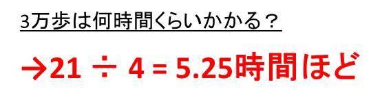 3 万 歩 距離 1キロは何歩?1000歩は何キロ?距離と歩数の換算方法|白丸くん